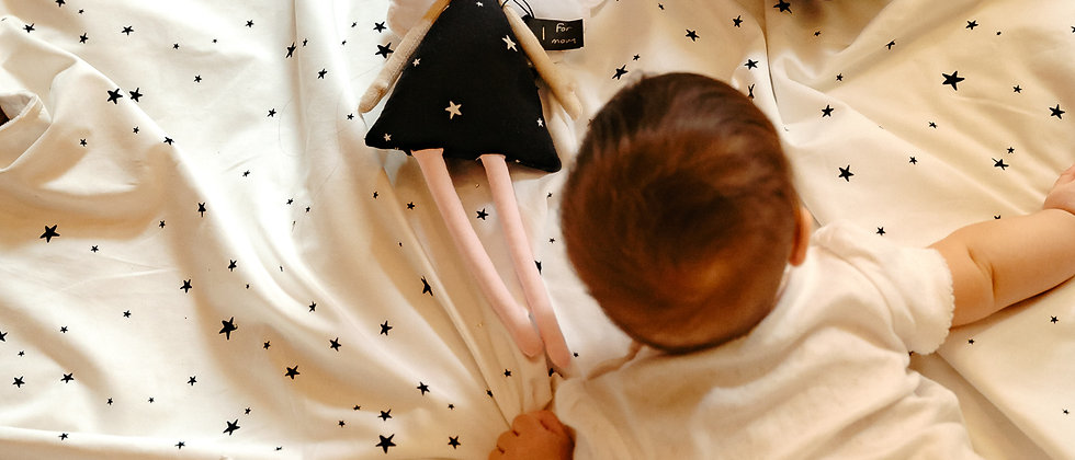 White Stars Σετ σεντονάκια