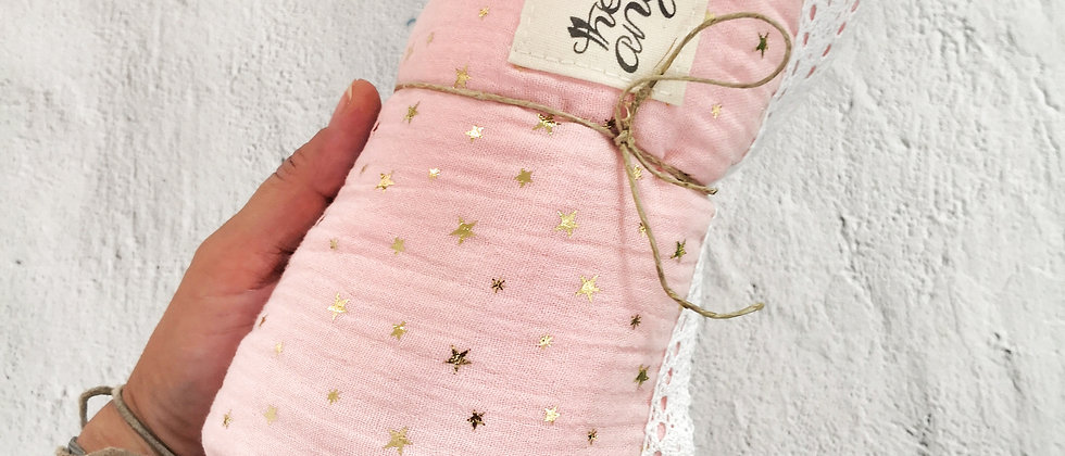 Pink Stars Swaddles