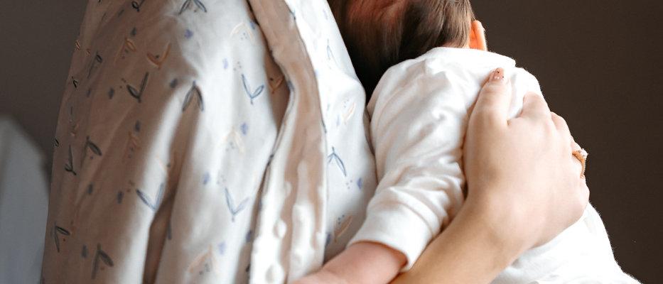 Baby Dream Κουβερτούλα εξόδου με κουκούλα