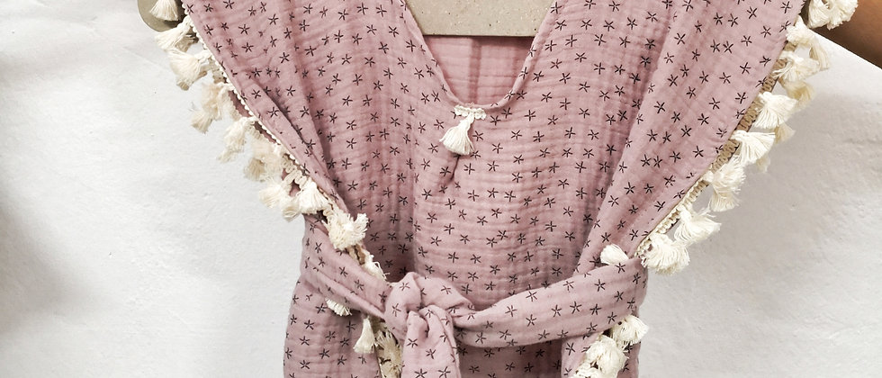 Dusty Pink Starfish Tunic