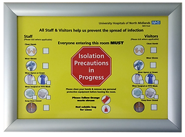 Isolation Waste Procedure Board