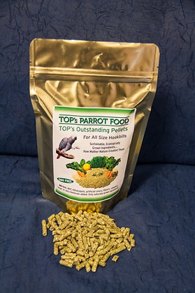 Totally Organic Pellets for Parrots