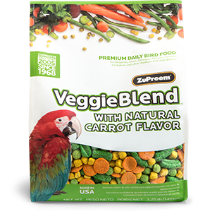 Zupreem Veggie Blend 3.25lb