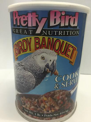Pretty Bird Birdy Banquet Cook & Serve 1lb