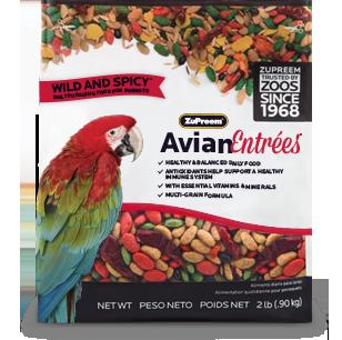 Wild & Spicy Parrots 2lbs