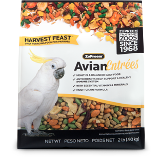 Harvest Feast Parrots 2lbs
