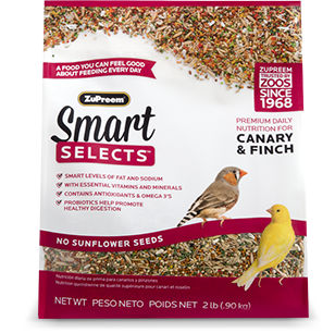 Smart Selects Canary & Finch 2lbs
