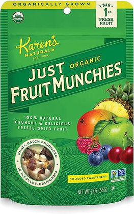 Just Fruit Munchies 3oz