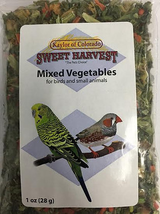Sweet Harvest Mixed Vegetables 1oz