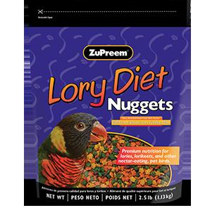 Zupreem Lory Diet Nuggets 2.5lbs