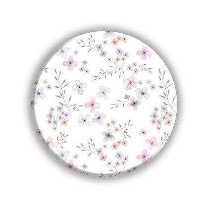 Delicate Florals Pocket Mirror