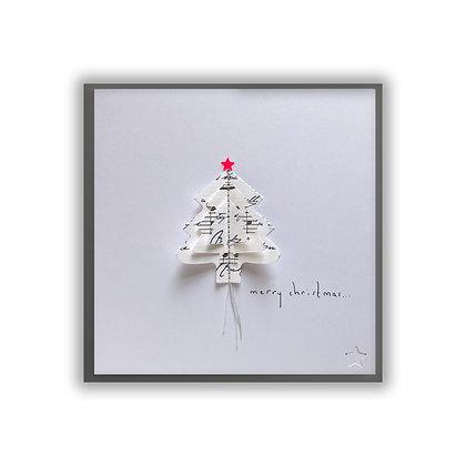 3D Christmas Tree Card