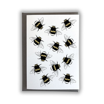 Bumble Bees Card