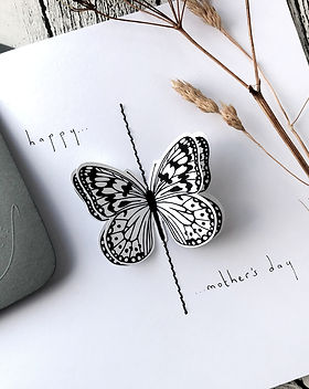 3D butterfly card happy Mother's day 2.j