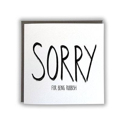Sorry! Card