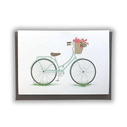 Vintage Bike Card