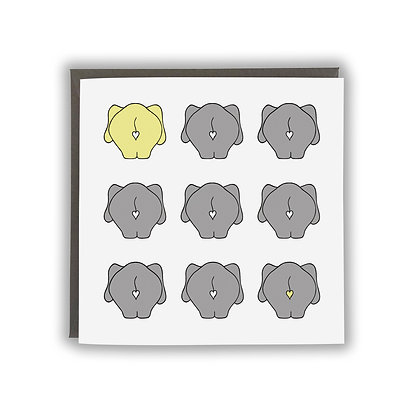 Baby Elephant bums