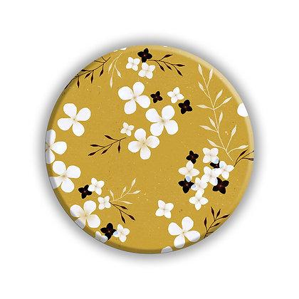 Mustard Flower Pocket Mirror