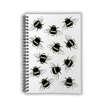 A5 Bumble Bee Notebook