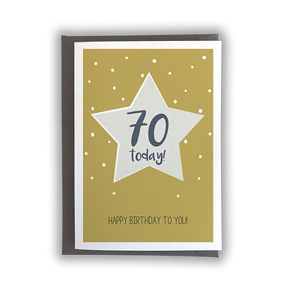 70 Today!