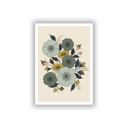 Rambling Rose Print - Light