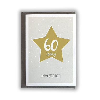 60 Today!