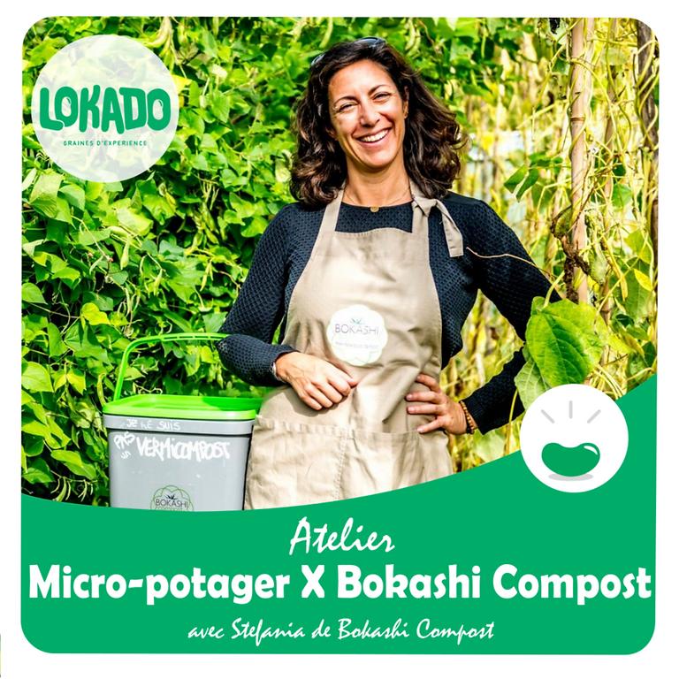 Micro potager X Bokashi Compost