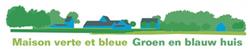 La maison verte et bleue