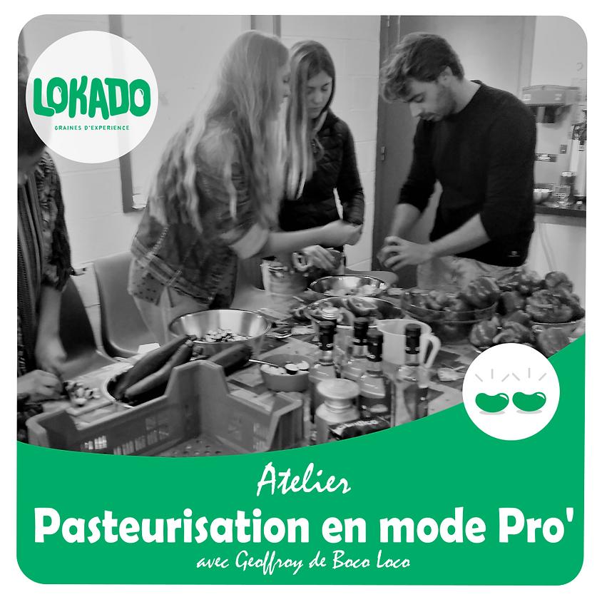Atelier Pasteurisation en Mode Pro' (Conserve de légume)