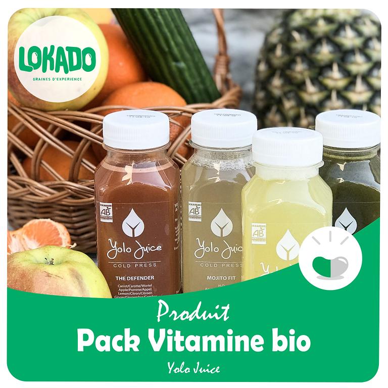 Vitamine Pack bio