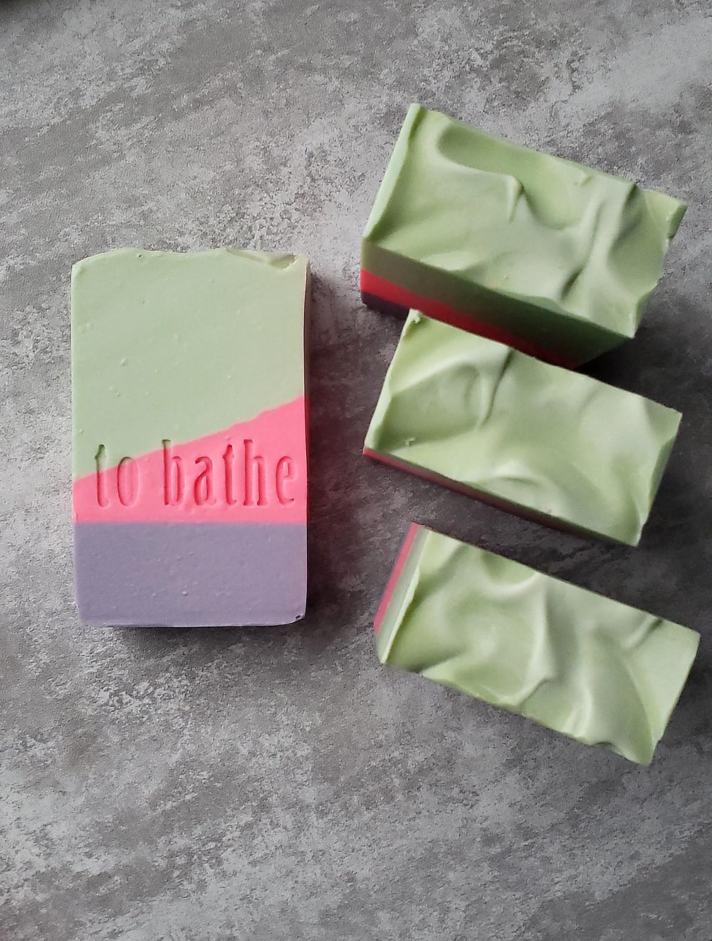 Cold process artisan soap