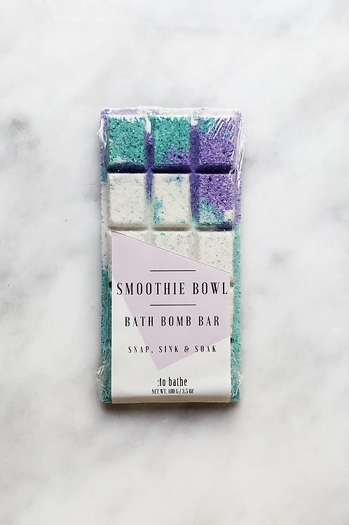 Smoothie Bowl Bath Bomb Bar - 3.5oz