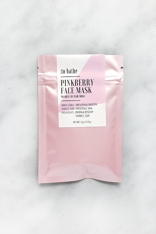 Pinkberry Face Mask- 0.75oz