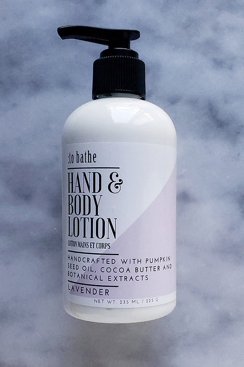 Lavender Hand & Body Lotion - 8oz