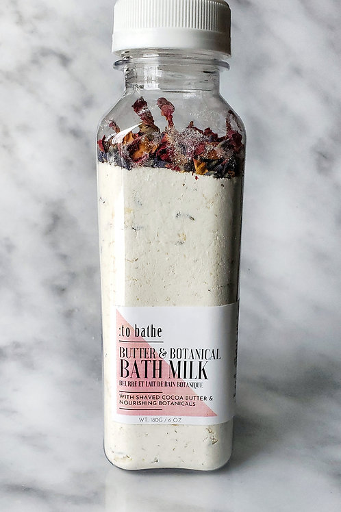 Butter & Botanical Bath Milk - 6oz