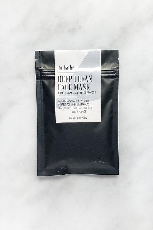 Deep Clean Face Mask- 0.75oz