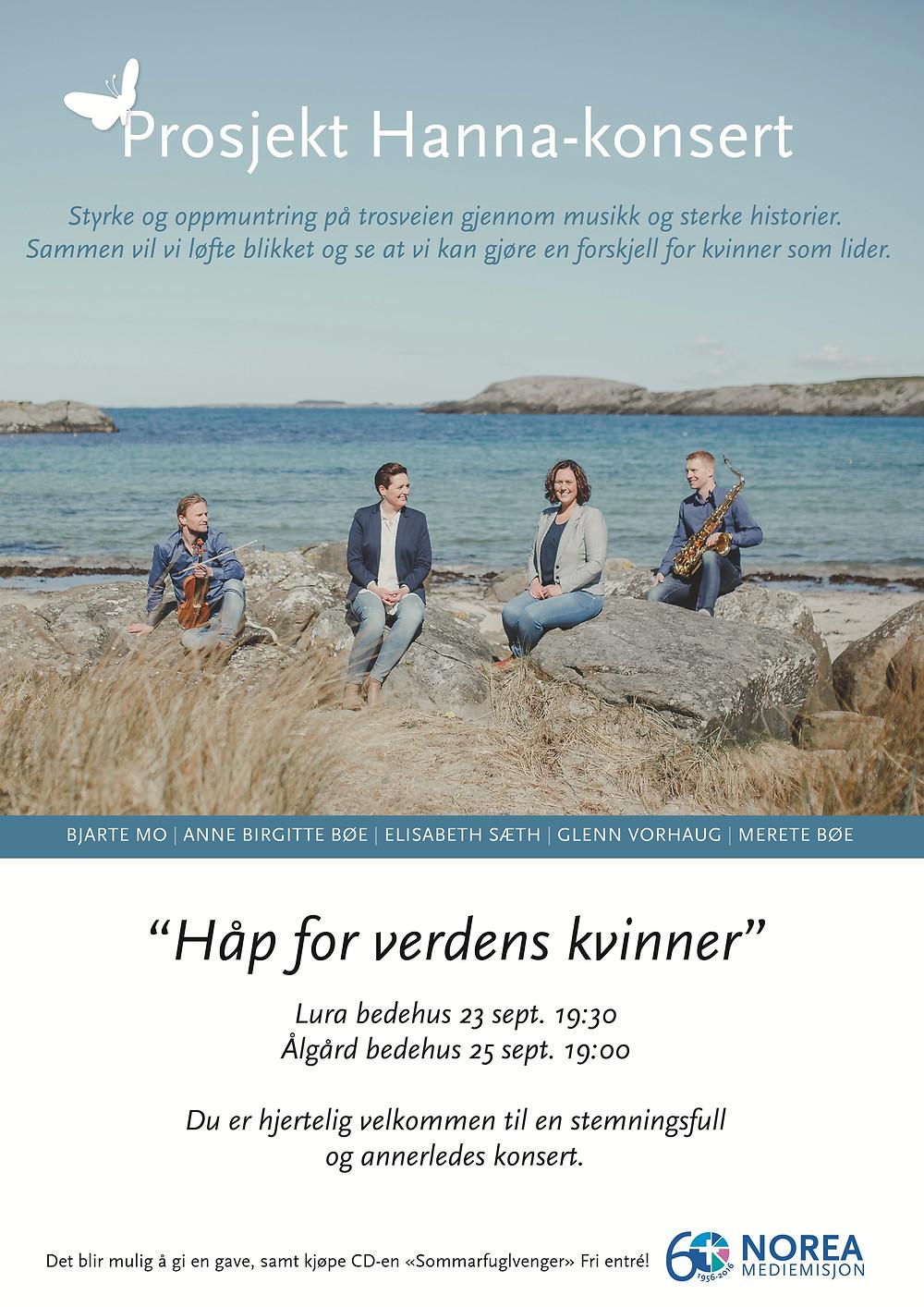 Prosjekt Hanna-konsert