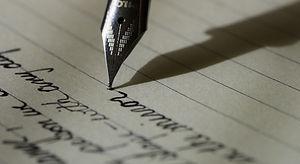 Penn og gammel skrift