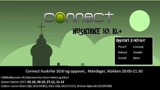 Connect huskirker fra 10. kl starter 2.10