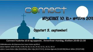 Huskirke 10 kl + partalls-mandager kl 20 i Blåklokkeveien 46
