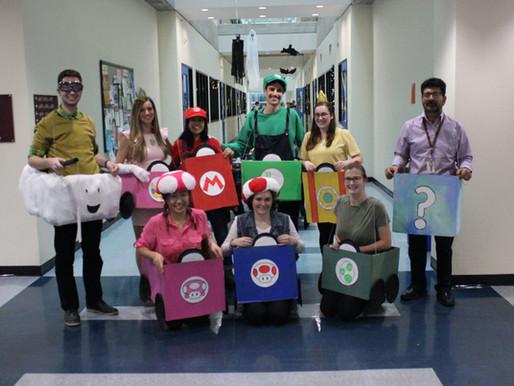 The Ashkar Lab Wins the Costume Contest!