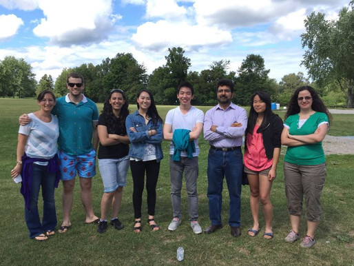 The Ashkar Lab Attends the Annual McMaster Immunology Research Centre Barbecque