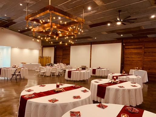 Gorgeous Indoor Wedding Reception