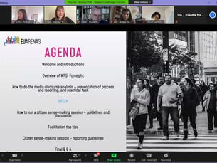 WP5: Media Discourses and Foresight Training Workshop