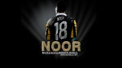 خلفية سطح المكتب للاعب محمد نور