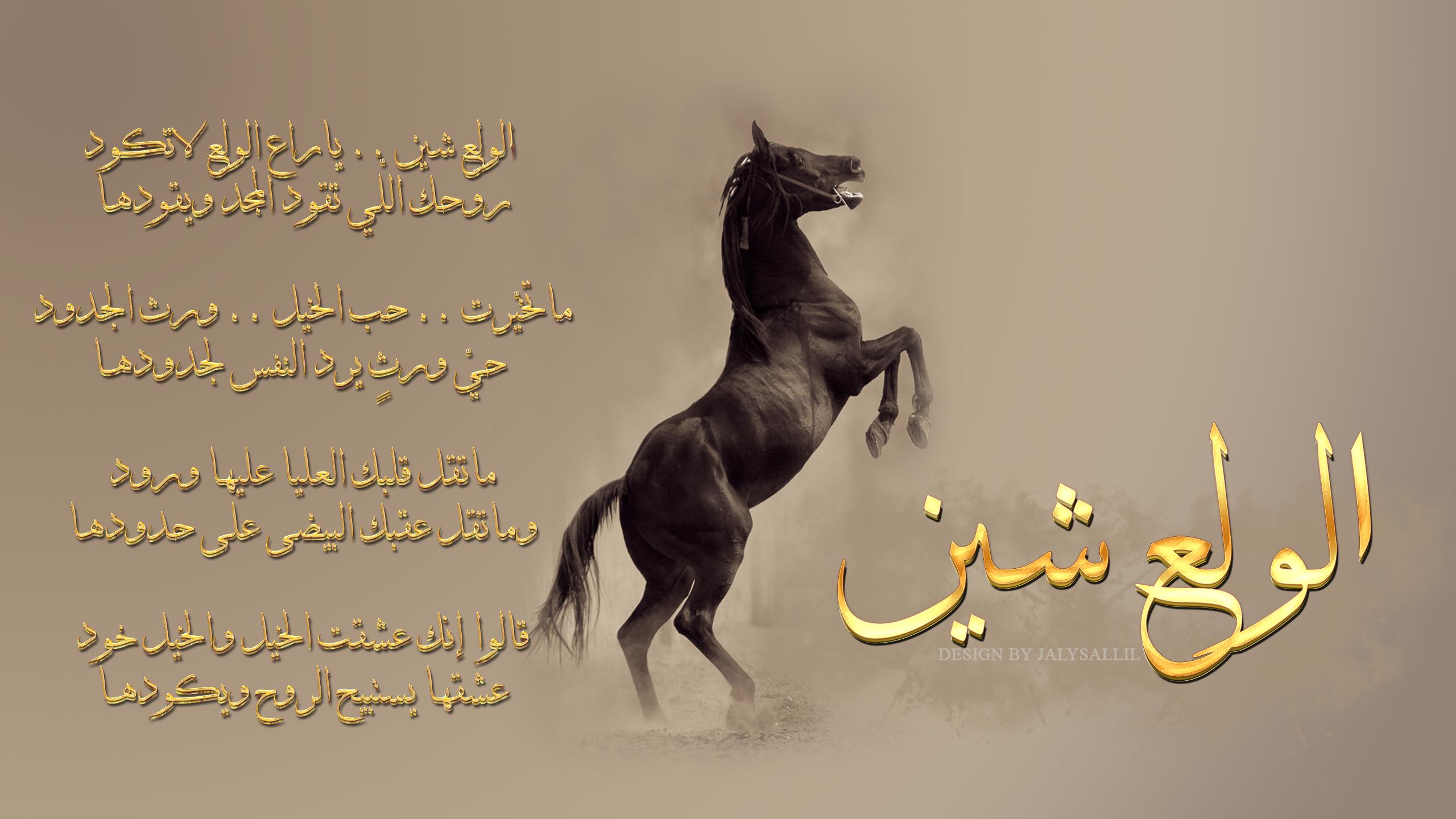 تصميم خلفية لقصيدة الولع شين