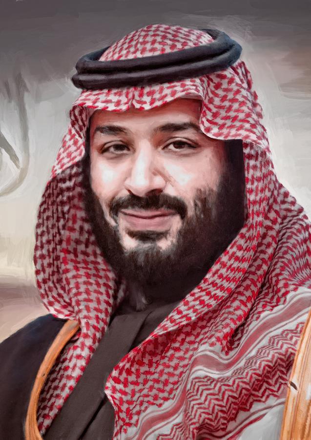 ولي العهد محمد بن سلمان بن عبدالعزيز