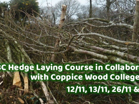 GBC Hedge Laying Course November 2021 - Application Form