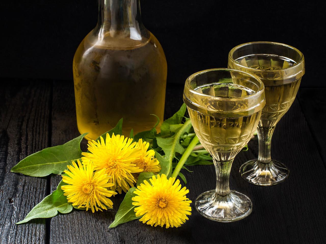 Delcious Dandelion Wine