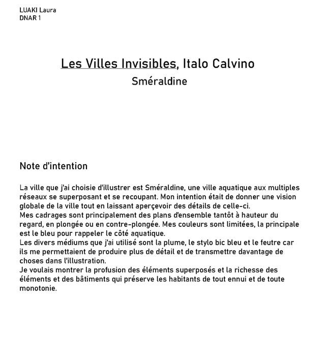 Villes invisibles